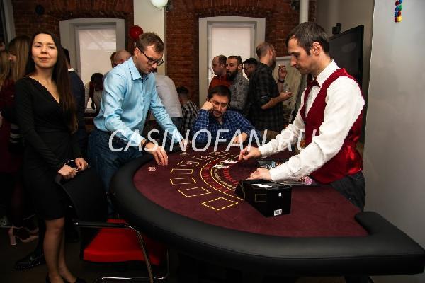 выездное казино на мероприятие москва